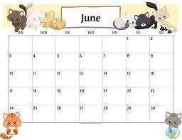 Printable Calendar Pdf Adorable Cute Cats 48 Calendar Printable Planner PDF With Free 48 Etsy