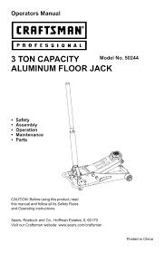 craftsman 50244 user manual manualzz