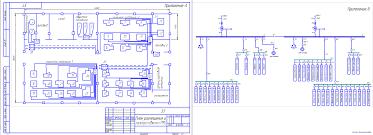 Курсовые и дипломные проекты по электроснабжению Чертежи РУ Курсовой проект Электроснабжение ремонтно механического цеха