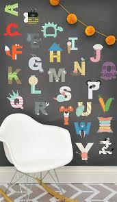art wall kids alphabet wall decals