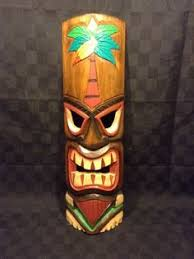20 wood carved tall chesapeake bay hawaiian tiki mask decor wall on tiki mask wall art with 29 best tiki wall decor images on pinterest tiki mask bricolage
