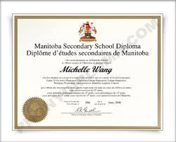 fake high school diploma and transcripts manitoba  manitoba fake secondary school diploma hs can mani d