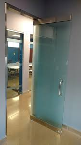 S Full Glass Office Doors