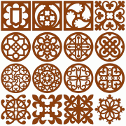 Free Scroll Saw Patterns Adorable Scroll Saw And Fretwork Vector Patterns