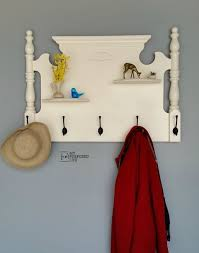 Repurposed Coat Rack 100 Clever Ideas for DIY Hooks DIY Coat Racks 63