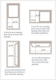 Egress Window Size Calculator Egress Window Cost Beauteous Egress Requirements For Bedroom Windows
