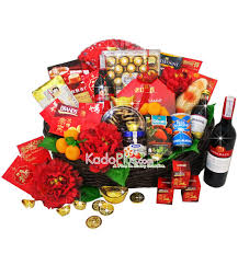 Small Picture Chinese New Year Hamper Orient Delight Toko Bunga Online