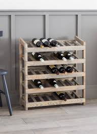 wine rack. The Rustic Aldsworth Wine Rack Offers A Lovely Simple Way To House And Display Your Favourite
