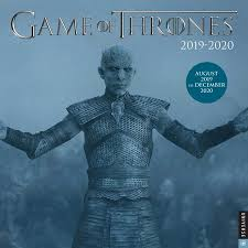 School Calendar Template 2020 17 Game Of Thrones 2019 2020 17 Month Wall Calendar