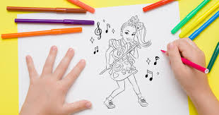 Polish your personal project or design with these jojo transparent png images, make it even more personalized and more attractive. 12 Free Jojo Siwa Coloring Pages Moms