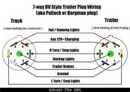 7 pole round pin trailer wiring diagram images hopkins 7 way 7 6 4 way wiring diagrams heavy haulers rv resource guide