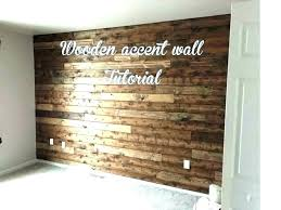 rustic accent wall ideas reclaimed wood decor barn wooden tutorial walls living ro