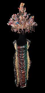 wedding outfit ulu rajang iban peoples sarawak state borneo island