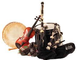 Resultat d'imatges de instruments celtes