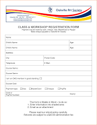 Registration Form Templates For Word Membership Form Template Word Rome Fontanacountryinn Com