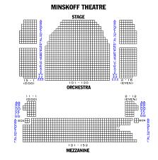 15 Minskoff Theatre Seating Chart Minskoff Theatre Seating