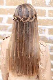 Hairstyle Waterfall how to create a loop waterfall braid cute girls hairstyles 1923 by stevesalt.us