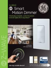 iris zwave ge 45637 wireless lighting. Ge 45631 Wave Wireless Lighting. Beautiful Lighting Image Of A Zwave Plus Smart Motion Dimmer Iris 45637 P
