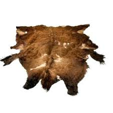 bear hide rug second quality buffalo bison robe faux skin for nursery pattern canada