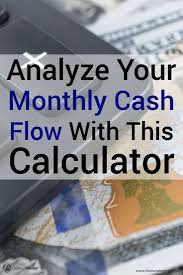 online cash flow calculator cash flow calculator for forecasting and analysis