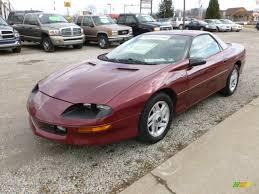 1994 Medium Patriot Red Metallic Chevrolet Camaro Coupe #60045327 ...