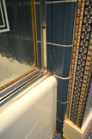 removing caulking from shower how to remove an old sliding shower door removing caulk shower stall