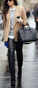 20 Ways To Wear Leather <b>Leggings</b> With Your Outfit | Наряд с ...