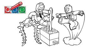 Small Picture LEGOcom Juniors Downloads Coloring pages Spiderman 1 Owens