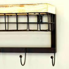 modern wall coat rack metal wall mounted coat rack mercury row modern wall mounted coat rack