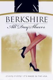 Berkshire Queen All Day Sheer Non Control Top Pantyhose Sandalfoot