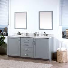 Bathroom Vanity Base Wonderful Grey Bathroom Vanity 4 Drawer And 2 Cabinet Door Base