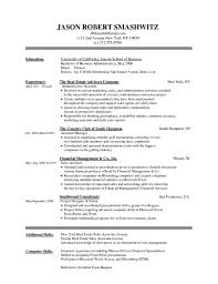 Free Online Resume Template Example Document And Resume