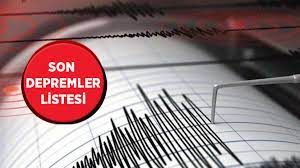 En son nerede, kaç şiddetinde deprem oldu? 18 Mayıs son depremler  listesi... - Haberler Milliyet