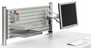 office cubicle accessories. Cubicle Organizers Slat Wall Rail Storage Ergonomic Office Accessories