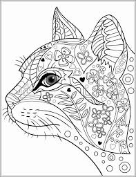Cat Coloring Pages For Adults Elegant Free Printable Coloring Pages