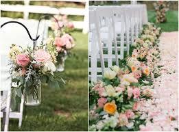 wedding aisle flowers. Outdoor Wedding Aisle Decoration Ideas to Love