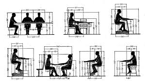 reference common dimensions angles and heights for seating designers core77