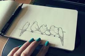 cute bird drawing tumblr. Simple Drawing Desenhos De Amor Tumblr  Pesquisa Google To Cute Bird Drawing Tumblr