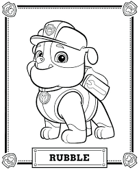 Skye Paw Patrol Coloring Pages And Page Everest C Auchmar
