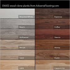 minwax stain chart advanta envee loose lay wood planks garage flooring llc