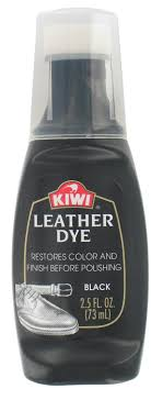 photo of kiwi leather dye black 2 5 fl oz