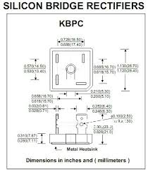 wiring diagram for rectifier kbpc wiring discover your aliexpress buy silicon bridge rectifiers kbpc2500 kbpc2501