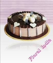 1kg Eggless Chocolate Cake At Rs 1400 Piece New Friends Colony
