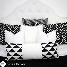 black and white lumbar pillow. Beautiful Pillow Intended Black And White Lumbar Pillow R