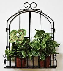 Wandblumenhalter Fenster Blumenständer Aus Metall Wandregal