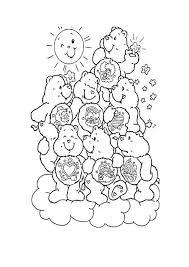 Disegni Per Bambini Orsetti Del Cuore Felici Disegni Da Colorare