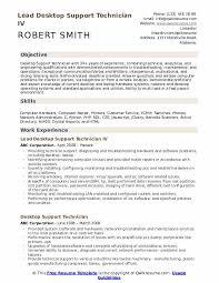 computer support technician resume desktop support technician resume samples qwikresume