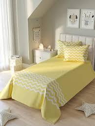 Купить покрывало «Любиос (желтый)» желтый/золото, белый по ...