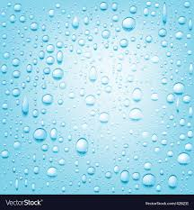 Water Droplets Background Water Drops Background Royalty Free Vector Image