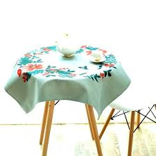 inch square tablecloth round table how to fit a on with for 34 french oil